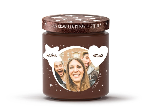 Crema Pan di Stelle-label